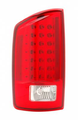 Headlights & Tail Lights - Led Tail Lights - Anzo - Dodge Ram Anzo LED Taillights - Red & Clear - 311049