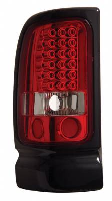 Headlights & Tail Lights - Led Tail Lights - Anzo - Dodge Ram Anzo LED Taillights - Red & Clear - 311052