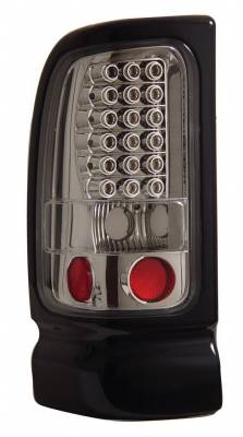 Headlights & Tail Lights - Led Tail Lights - Anzo - Dodge Ram Anzo LED Taillights - Chrome - 311061