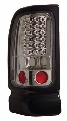 Headlights & Tail Lights - Led Tail Lights - Anzo - Dodge Ram Anzo LED Taillights - Chrome - 311061