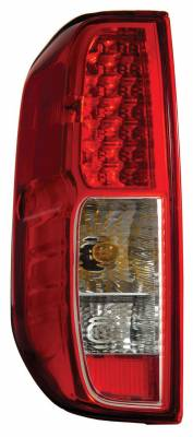 Headlights & Tail Lights - Led Tail Lights - Anzo - Nissan Frontier Anzo LED Taillights - Red & Clear - 311071