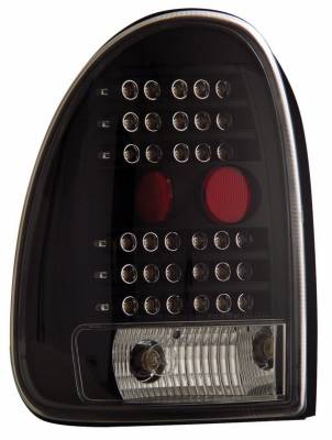 Headlights & Tail Lights - Led Tail Lights - Anzo - Plymouth Voyager Anzo LED Taillights - Black - 311077