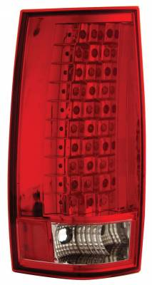 Headlights & Tail Lights - Led Tail Lights - Anzo - GMC Yukon Anzo LED Taillights - Gen 3 - Red & Clear - 311082