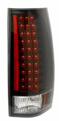 Headlights & Tail Lights - Led Tail Lights - Anzo - Chevrolet Tahoe Anzo LED Taillights - Gen 3 - Black - 311084