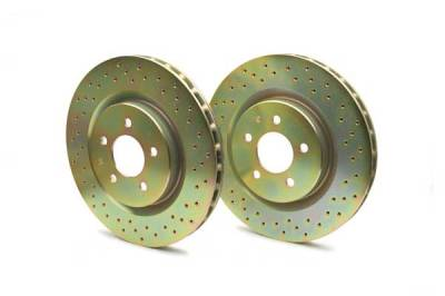 Brakes - Brembo Brake Systems - Brembo - Brembo Sport Brake Rotors - Rear - 37047
