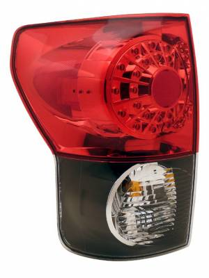 Headlights & Tail Lights - Led Tail Lights - Anzo - Toyota Tundra Anzo LED Taillights - Black - 311092
