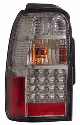 Headlights & Tail Lights - Led Tail Lights - Anzo - Toyota 4Runner Anzo LED Taillights - Chrome - 311098