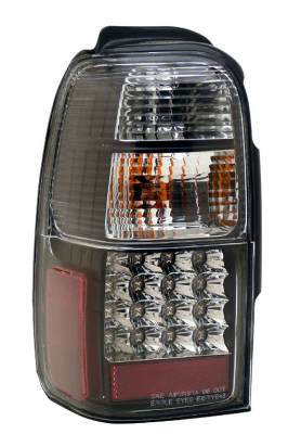 Headlights & Tail Lights - Led Tail Lights - Anzo - Toyota 4Runner Anzo LED Taillights - JDM Black - 311099
