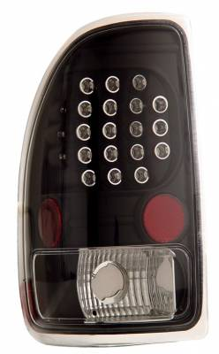 Headlights & Tail Lights - Led Tail Lights - Anzo - Dodge Dakota Anzo LED Taillights - Black - 311101