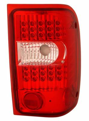 Headlights & Tail Lights - LED Tail Lights - Anzo - Ford Ranger Anzo LED Taillights - G2 - Red & Clear - 311105