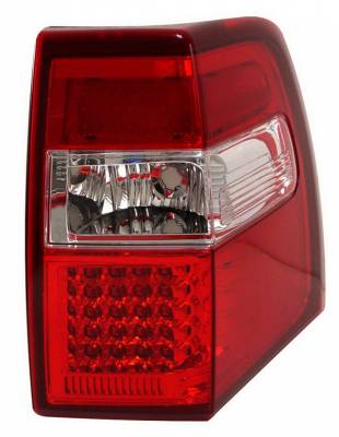 Headlights & Tail Lights - Led Tail Lights - Anzo - Ford Expedition Anzo LED Taillights - Red & Clear - 311108