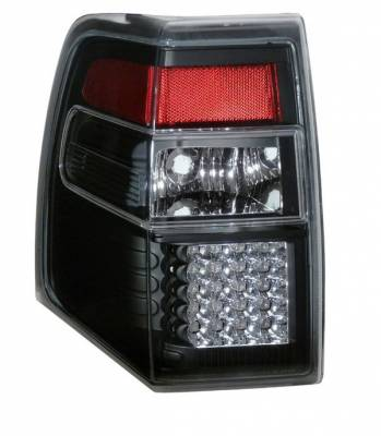 Headlights & Tail Lights - Led Tail Lights - Anzo - Ford Expedition Anzo LED Taillights - Black - 311110