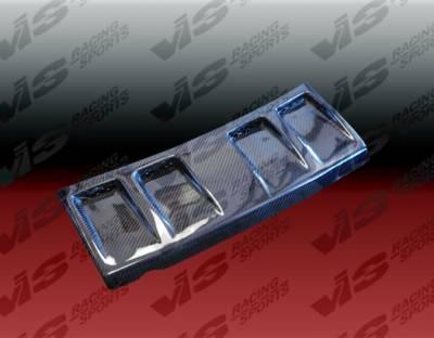 Grilles - Custom Fit Grilles - VIS Racing - Nissan 300Z VIS Racing Invader Front Grille - Fiberglass - 90NS3002DINV-015