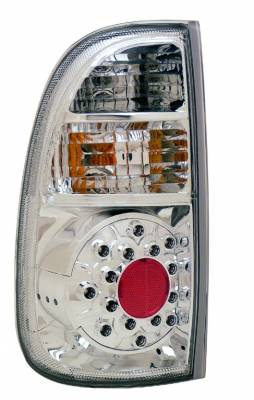 Headlights & Tail Lights - Led Tail Lights - Anzo - Toyota Tundra Anzo LED Taillights - All Chrome - 311118