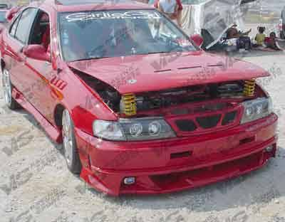 Grilles - Custom Fit Grilles - VIS Racing. - Nissan 200SX VIS Racing Xtreme Front Grille - 95NS2002DEX-015