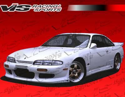 Grilles - Custom Fit Grilles - VIS Racing - Nissan 240SX VIS Racing Ballistix Grille - 95NS2402DBX-015