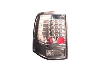 Headlights & Tail Lights - Led Tail Lights - Anzo - Ford Explorer Anzo LED Taillights - Chrome - 311124