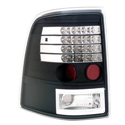 Headlights & Tail Lights - Led Tail Lights - Anzo - Ford Explorer Anzo LED Taillights - Black - 311125