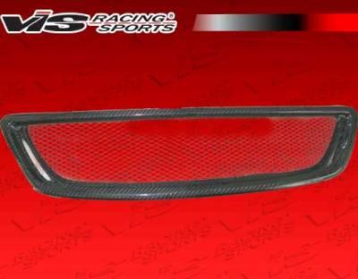 Grilles - Custom Fit Grilles - VIS Racing - Lexus GS VIS Racing Alfa Front Grille - Carbon Fiber - 98LXGS34DALF-015C