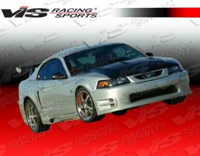 Grilles - Custom Fit Grilles - VIS Racing - Ford Mustang VIS Racing K Speed Front Grille - Fiberglass - 99FDMUS2DKSP-015