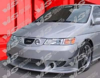 Grilles - Custom Fit Grilles - VIS Racing - Honda Odyssey VIS Racing Tracer Front Grille - Fiberglass - 99HDODY4DTRA-015