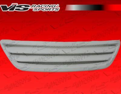 Grilles - Custom Fit Grilles - VIS Racing - Lexus RX300 VIS Racing Techno R Front Grille - Fiberglass - 99LXRX34DVIP-015