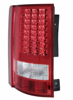 Headlights & Tail Lights - LED Tail Lights - Anzo - Chrysler Town Country Anzo LED Taillights - Red & Clear - 311131