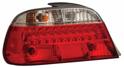 Headlights & Tail Lights - Led Tail Lights - Anzo - BMW 7 Series Anzo LED Taillights - Red & Clear - 321008