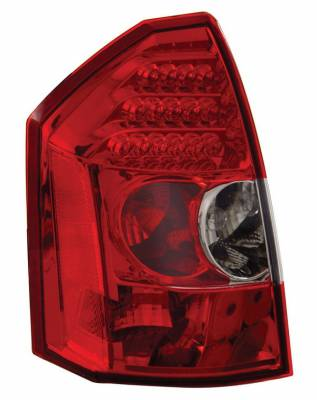Headlights & Tail Lights - Led Tail Lights - Anzo - Chrysler 300 Anzo LED Taillights - Red & Clear - 321009