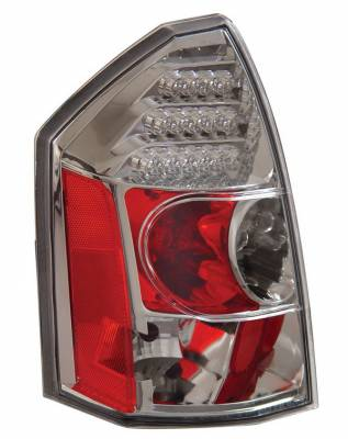 Headlights & Tail Lights - Led Tail Lights - Anzo - Chrysler 300 Anzo LED Taillights - Chrome - 321010