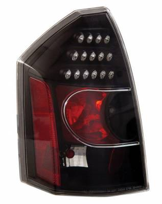 Headlights & Tail Lights - Led Tail Lights - Anzo - Chrysler 300 Anzo LED Taillights - Black - 321011