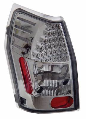Headlights & Tail Lights - Led Tail Lights - Anzo - Dodge Magnum Anzo LED Taillights - Chrome - 321016