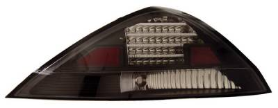 Headlights & Tail Lights - Led Tail Lights - Anzo - Honda Accord 2DR Anzo LED Taillights - Black - 321029