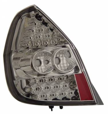 Headlights & Tail Lights - Led Tail Lights - Anzo - Honda Fit Anzo LED Taillights - Chrome - 321042