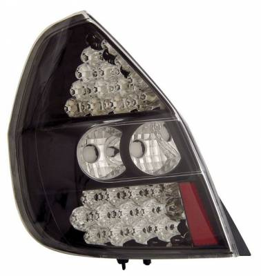 Headlights & Tail Lights - Led Tail Lights - Anzo - Honda Fit Anzo LED Taillights - Black - 321043