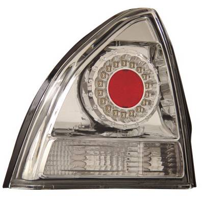 Headlights & Tail Lights - Led Tail Lights - Anzo - Honda Prelude Anzo LED Taillights - Chrome - 321044