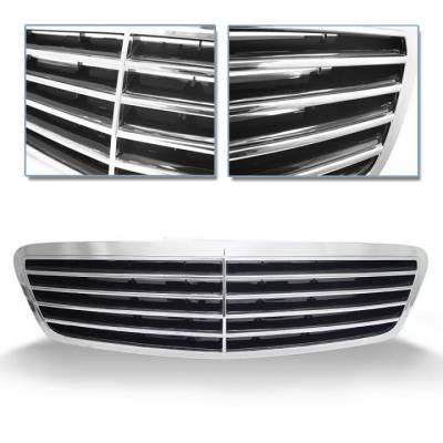 Grilles - Custom Fit Grilles - Vert - S Class Sports Grille - OEM Type