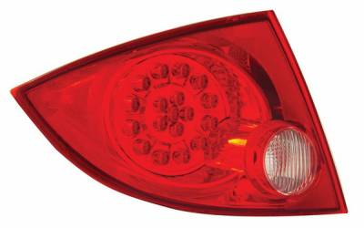 Headlights & Tail Lights - Led Tail Lights - Anzo - Chevrolet Cobalt 4DR Anzo LED Taillights - Red & Clear - 321081