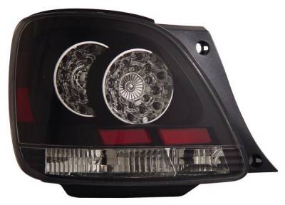 Headlights & Tail Lights - Led Tail Lights - Anzo - Lexus GS Anzo LED Taillights - Black - 321102