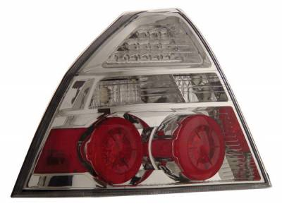 Headlights & Tail Lights - Led Tail Lights - Anzo - Chevrolet Aveo Anzo LED Taillights - Chrome - 321103
