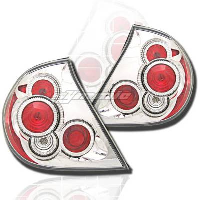 Headlights & Tail Lights - Tail Lights - Custom - Chrome Clear Altezza Taillights 02-04