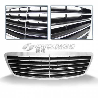 Grilles - Custom Fit Grilles - Custom - S Class W220 Grille 03-05