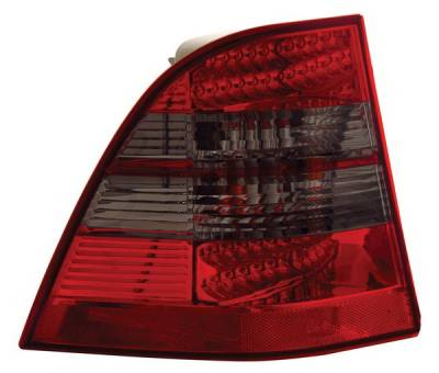 Headlights & Tail Lights - Led Tail Lights - Anzo - Mercedes ML Anzo LED Taillights - 321117