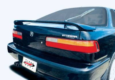 Spoilers - Custom Wing - VIS Racing - Acura Integra VIS Racing Factory Style wing without Center Leg - 49129