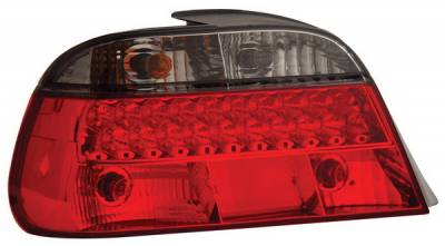 Headlights & Tail Lights - Led Tail Lights - Anzo - BMW 7 Series Anzo LED Taillights - Red & Smoke - 321131