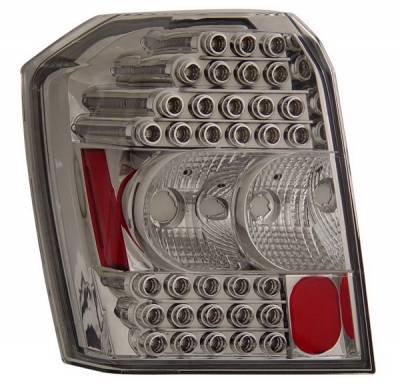 Headlights & Tail Lights - Led Tail Lights - Anzo - Dodge Caliber Anzo LED Taillights - Chrome - 321135