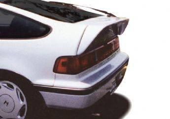 Spoilers - Custom Wing - VIS Racing - Honda CRX VIS Racing Flush Mount Deck Spoiler without Light - 49229