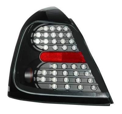 Headlights & Tail Lights - Led Tail Lights - Anzo - Pontiac Grand Prix Anzo LED Taillights - Black - 321150