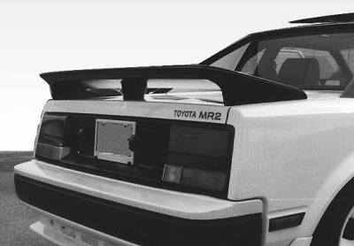 Spoilers - Custom Wing - VIS Racing - Toyota MR2 VIS Racing Factory Style 3 Leg Wing without Light - 49525