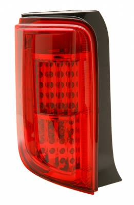 Headlights & Tail Lights - Led Tail Lights - Anzo - Scion xB Anzo LED Taillights - Red & Clear - 321158